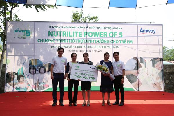 Hỗ trợ dinh dưỡng cho 2.000 trẻ em ở Thanh Hóa - ảnh 3