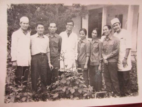 Khóa thực tập tại khoa tâm thần, bệnh viện quân y 103 của các học viên những năm 1981.