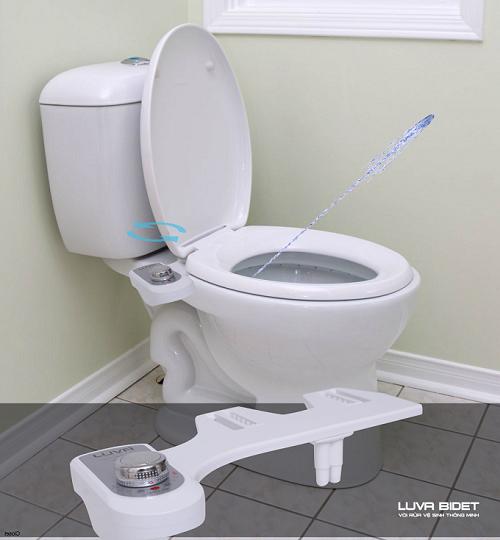 Cơ chế vòi phun của Luva Bidet LB201 mang đến cảm giác thoải mái, sạch sẽ và an toàn cho người sử dụng.