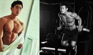 7 chàng trai châu Á nổi tiếng với thể hình 6 múi