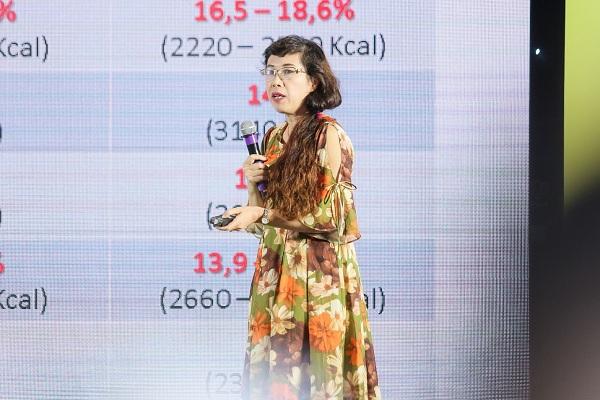 Thạc sĩ, bác sĩ Trần Khánh Vân, Phó Trưởng khoa Vi chất dinh dưỡng, Viện Dinh dưỡng Quốc gia.