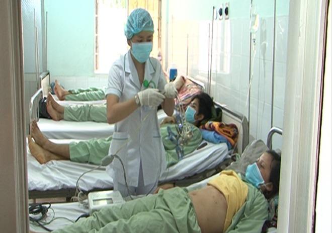 Bệnh nhân đang điều trị tại Bệnh viện Đa khoa tỉnh Kon Tum.