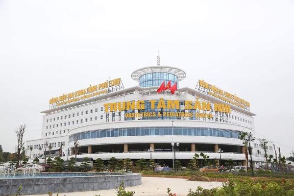 Trung tâm Sản nhi Phú Thọ xây dựng theo mô hình bệnh viện khách sạn. Ảnh: L.N