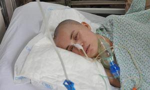 Cô gái chấn thương sọ não nằm viện một tháng không có người nhận