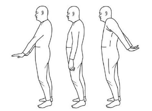 Động tác đơn giản trong bài tập Đạt ma Dịch cân kinh.