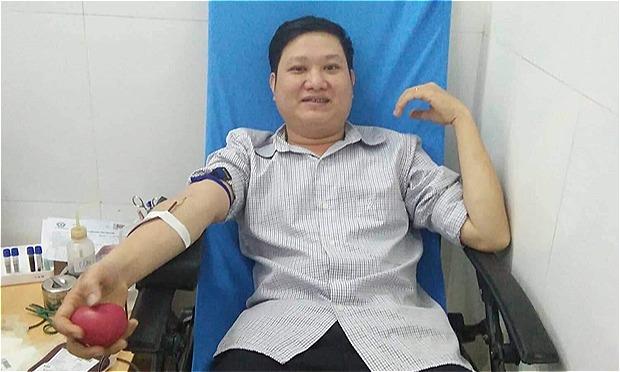 Anh Nguyễn Văn Quân. Ảnh: T.H