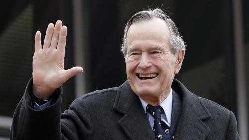 Bush cha được coi là cựu tổng thống Mỹ sống lâu nhất. Ảnh: Variety.
