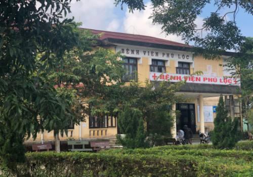 Bệnh viện Phú Lộc, nơi sản phụ sinh con gặp tai biến. Ảnh: V.V