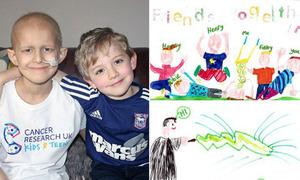 Cậu bé 7 tuổi viết 50 bức thư động viên người bạn ung thư