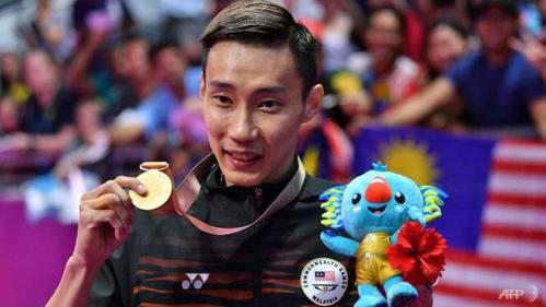 Lý Vĩnh Tông được coi là anh hùng Malaysia với hàng loạt huy chương trên sàn đấu quốc tế. Ảnh: AFP.