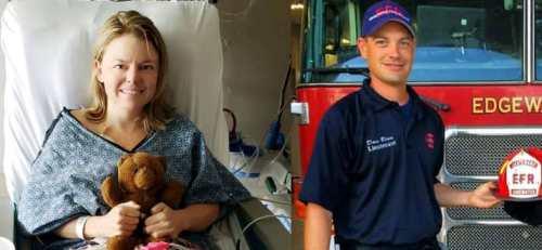 Người lính cứu hỏa hiến thận cứu sống cô gái.