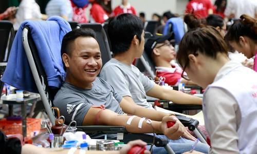 Máu nhóm O ở viện huyết học Hà Nội chỉ đủ điều trị vài ngày nữa