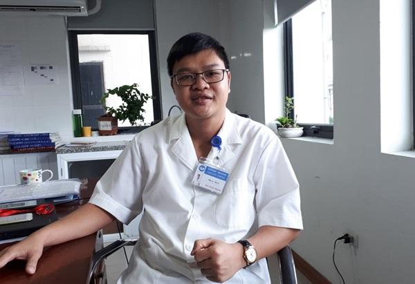 Bác sĩ chuyên khoa Nam học và hiếm muộn Hà Ngọc Mạnh.