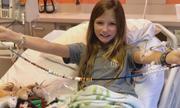 Bé gái 11 tuổi khỏi ung thư não