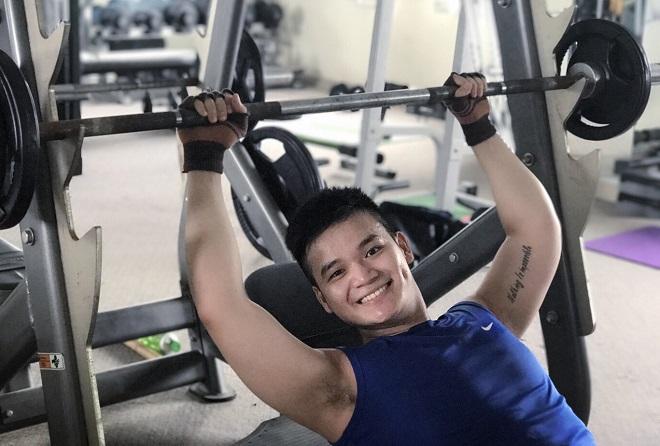 Lưu nói gym là một phần cuộc sống và thay đổi cuộc sống của mình. Ảnh: Thùy An