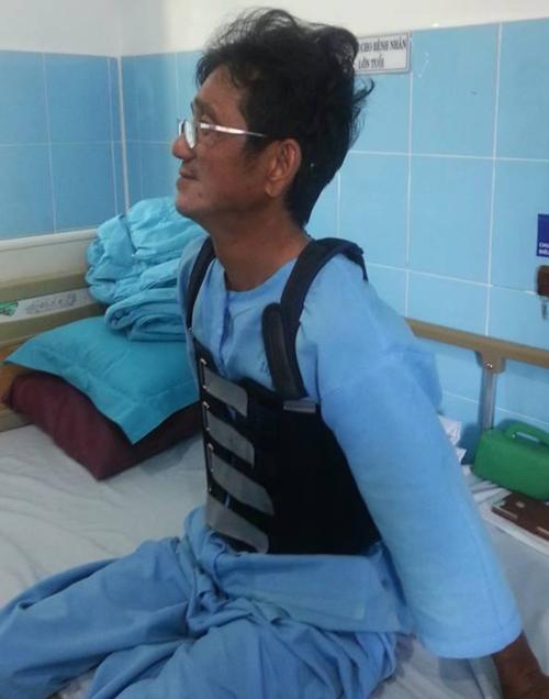 Anh Hiền hồi phục sau mổ và vừa xuất viện ngày 5/1. Ảnh: Kim Vĩnh.