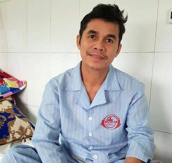 Bệnh nhân sau 10 ngày điêu trị đã phcuj hồi sức khỏe. Ảnh: Hoàng Yến