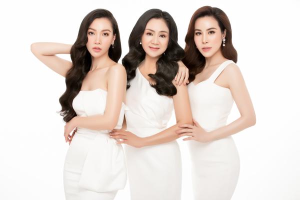 NSƯT Thu Hà đọ sắc cùng Hoa hậu Hoàng Dung, MC Minh Hà - 3