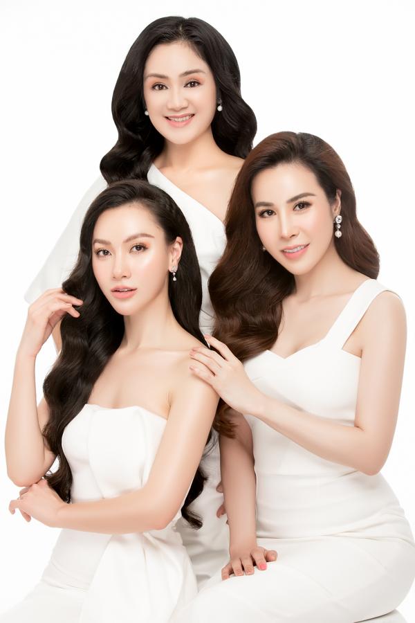 NSƯT Thu Hà đọ sắc cùng Hoa hậu Hoàng Dung, MC Minh Hà - 4