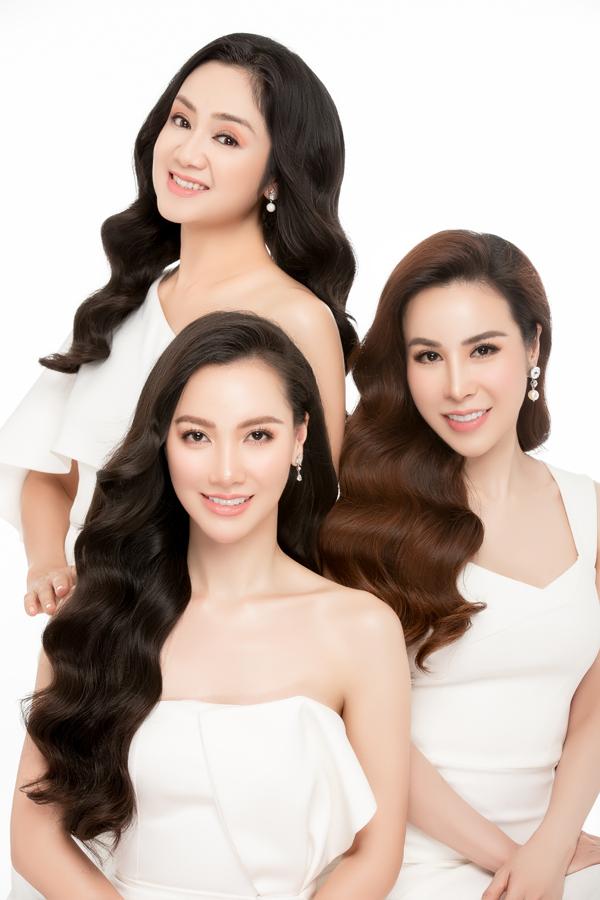 NSƯT Thu Hà đọ sắc cùng Hoa hậu Hoàng Dung, MC Minh Hà - 5