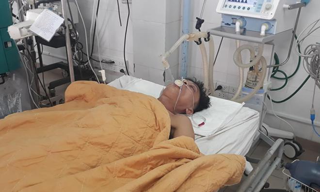 Bệnh nhân Nhật được chuyền gần năm lít bia vào cơ thể để kéo dài thời gian giải độc. Ảnh: Hoàng Táo