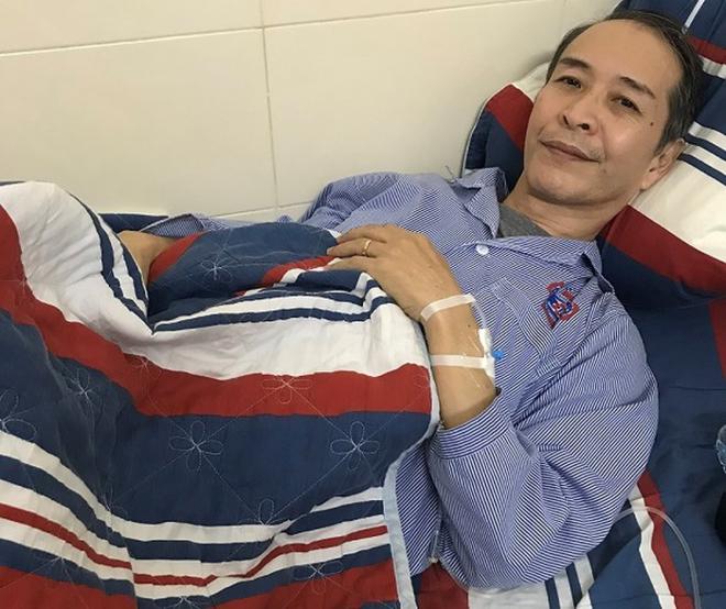 Bệnh nhân người Nhật Bản được điều trị tại Bệnh viện K. Ảnh: Trần Hà.