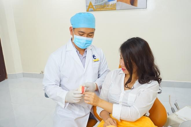 Việt kiều về nước bọc răng sứ tại Nha khoa Anna - 7