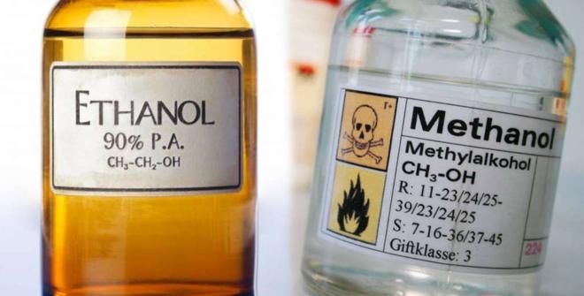 nếu ngộ độc methanol (rượu công nghiệp, cực độc) mà cho người bệnh uống ethanol (rượu, bia thực phẩm) thì sẽ có tác dụng giải độc.