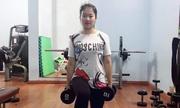 Cô vợ trẻ giảm 18 kg sau sinh nhờ tập gym
