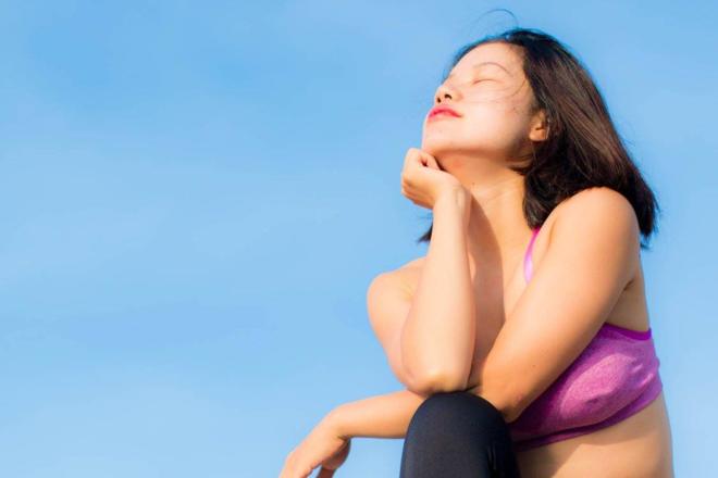 Thiền giúp tái tạo năng lượng, giúp người tập luôn thoải mái và có tinh thần tốt hơn. Ảnh: Thùy An