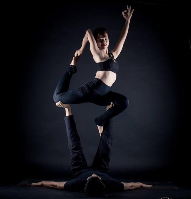 Ngoài thiền, Nga còn là giáo viên dạy Yoga. Ảnh: Nhân vật cung cấp