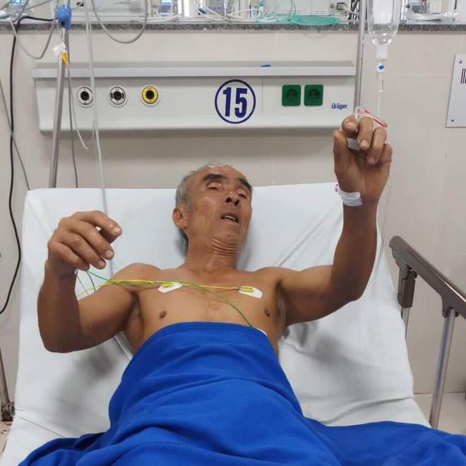 Bệnh nhân hồi phục tốt sau khi được điều trị bằng thuốc tiêu sợi huyết. Ảnh: Long Nhật.