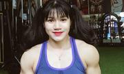 Thiếu nữ gây sốt với gương mặt xinh xắn trên vóc dáng cơ bắp