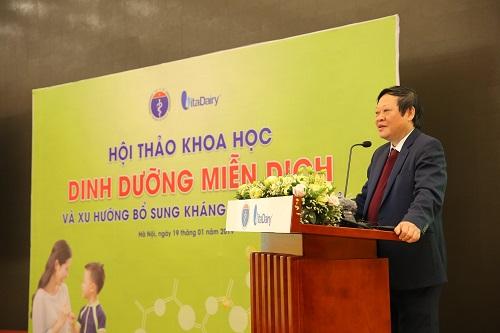 Thứ trưởng Nguyễn Viết Tiến phát biểu khai mạc hội thảo.
