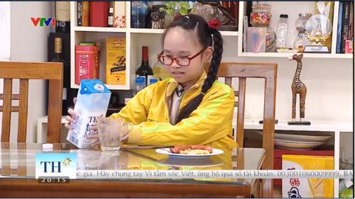 Một bữa sáng chất lượng do bé Trâm Anh tự tay làm được Vì tầm vóc Việt giới thiệu tới các bạn nhỏ và phụ huynh.