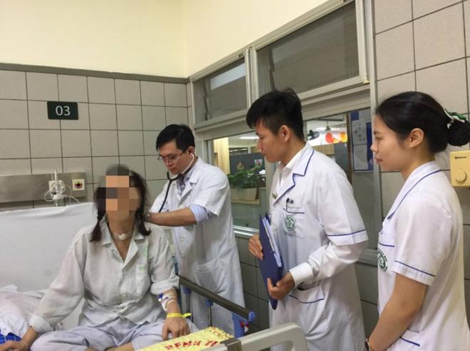 Bệnh nhân hồi phục sau 2 tháng điều trị. Ảnh: Mai Thanh.