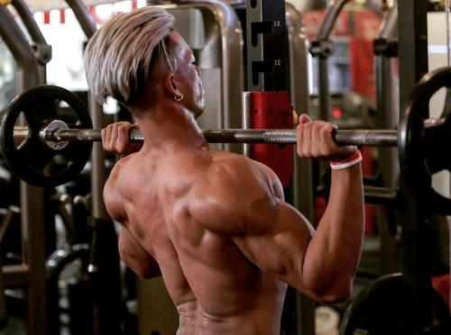 Quyền tập gym mỗi ngày. Ảnh: Nhân vật cung cấp.