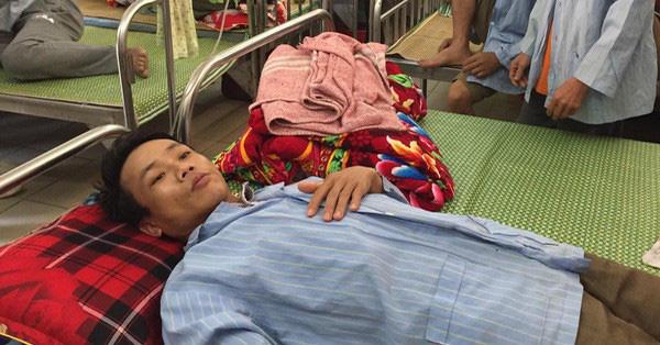 Hiện tại bệnh nhân vẫn đang được điều trị tại bệnh viện. Ảnh: Anh Ngọc