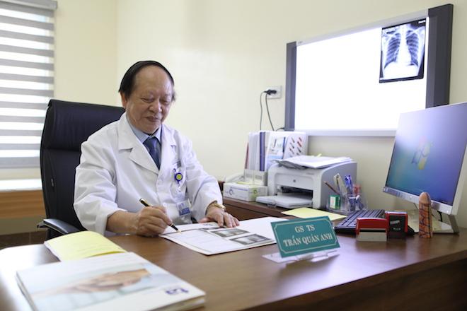 Giáo sư Trần Quán Anh là người dẫn dắt Trung tâm Nam học đầu tiên của Việt Nam.