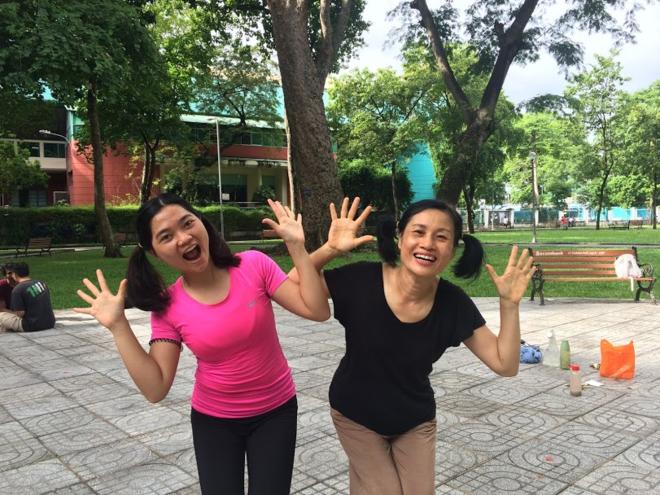 Trở về Việt Nam tham gia khóa thiền kết hợp nhảy múa, Linh đã chữa khỏi hoàn toàn căn bệnh trầm cảm của mình. Ảnh: Nhân vật cung cấp