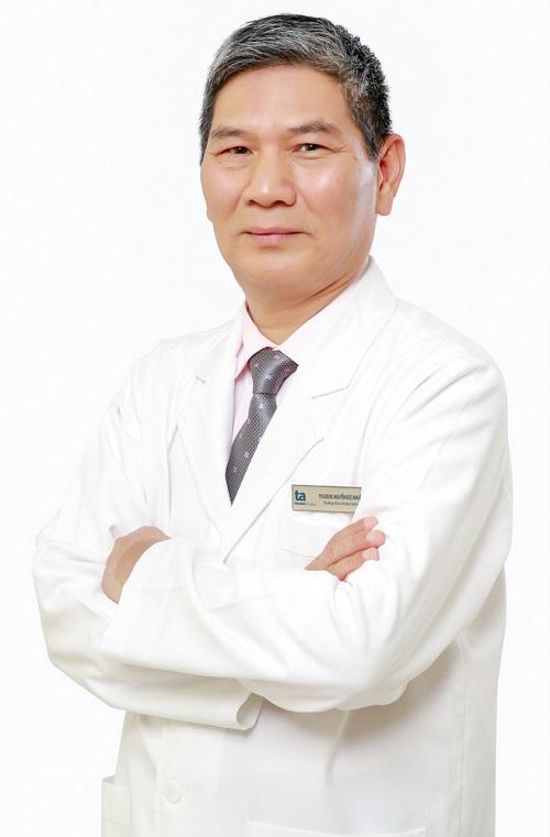 Thạc sĩ, bác sĩ Nguyễn Đức Nhuận.