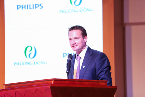 Ông Hugo Luik, Tổng Giám đốc công ty TNHH Philips Việt Nam