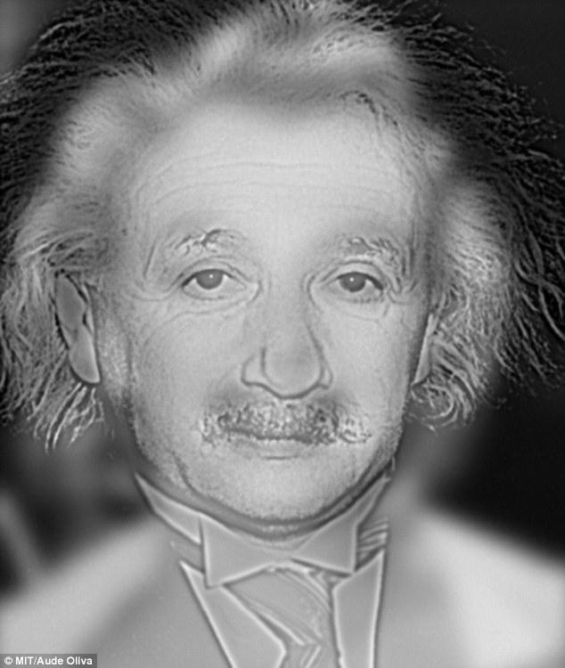 Bức ảnh lai giữa Albert Einstein và Marilyn Monroe. Ảnh: