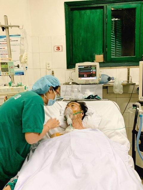 Bệnh nhân hiện ổn định sức khoẻ. Ảnh: Bệnh viện cung cấp.