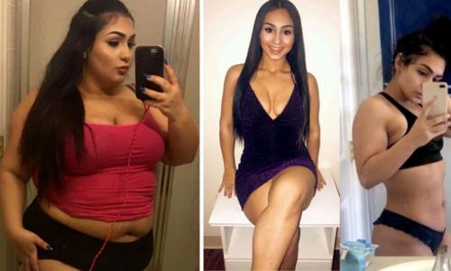 Cô gái 19 tuổi giảm 65 kg