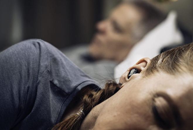 Cặp nút tai được thiết kế dành riêng cho những người phải nằm bên cạnh người ngáy to. Ảnh: Quiet On