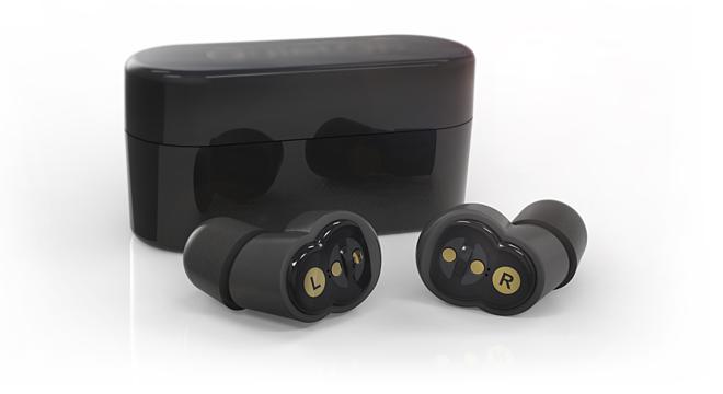 Cặp tai nghe không dây được thiết kế dành riêng cho những người phải nằm bên cạnh người ngáy to. Ảnh: Quiet On