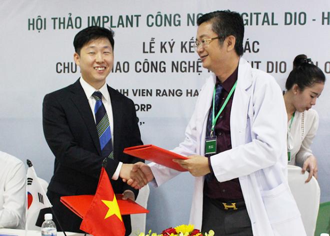 Nha khoa Đăng Lưu ký kết hợp tác.... (bổ sung thông tin).