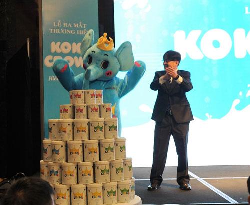 Buổi lễ ra mắt sản phẩm Koko Crown.