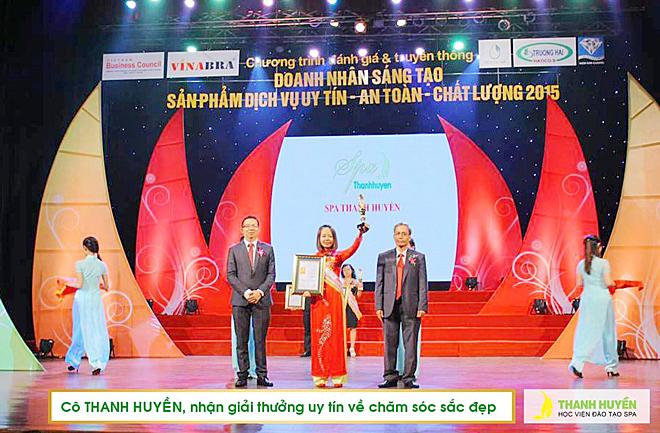 Thanh Huyền đoạt nhiều giải thưởng trong nghề.